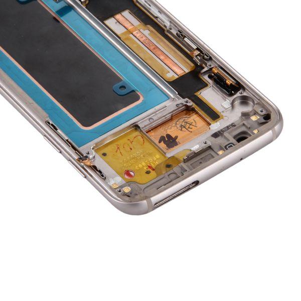 LCD Display für Samsung Galaxy S7 EdgeG935F + Ladeport + Power- Volumebutton
