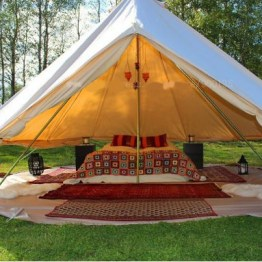 Canvas Glockenzelt Canvas Bell Tent 4m
