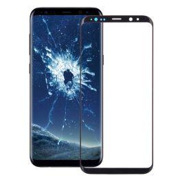 Samsung Galaxy S9+Front Screen Glas Linse (schwarz)