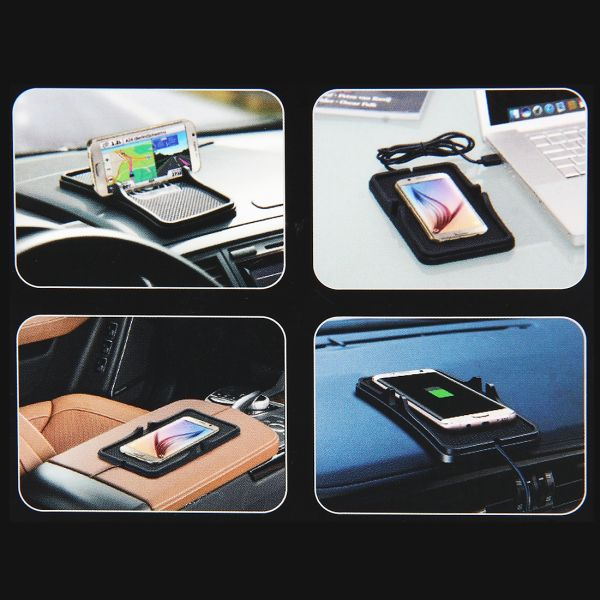 Fast Charging Unterlage fürs Auto Wireless Charger Pad