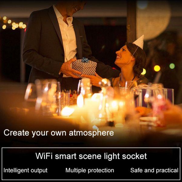 Smart Steckdose Smart Plug mit LED Orientierungslicht