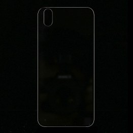 iPhone X Backcover Glas Transparent