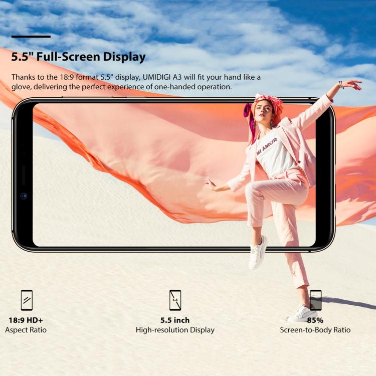 UMIDIGI A3 Dual 4G