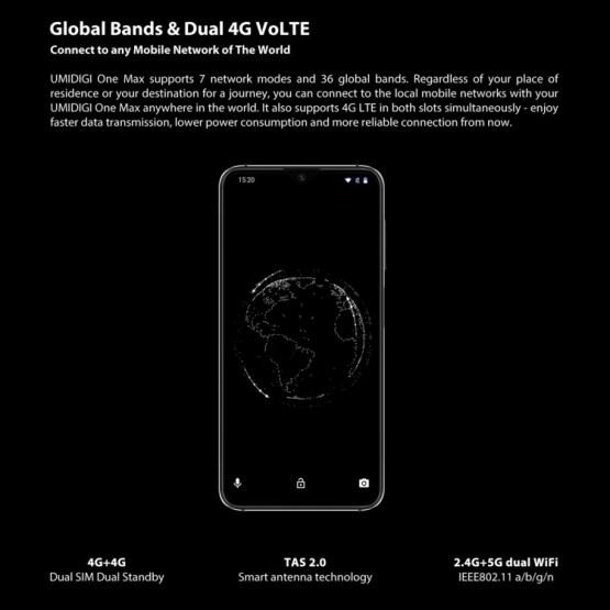 UMIDIGI One Max 4GB+128GB Global Band Dual 4G (8)