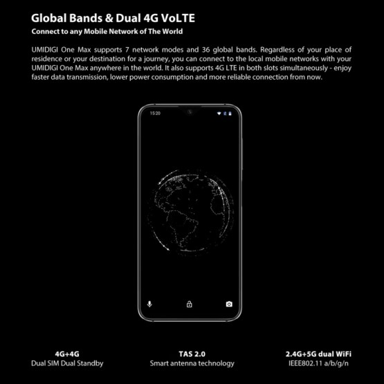 UMIDIGI One Max 4GB+128GB Global Band Dual 4G (8)