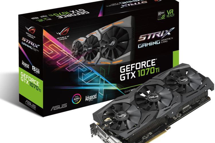 ASUS ROG Strix GeForce GTX1070T