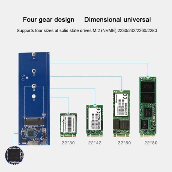 SSD 10GB Festplatte für USB-C