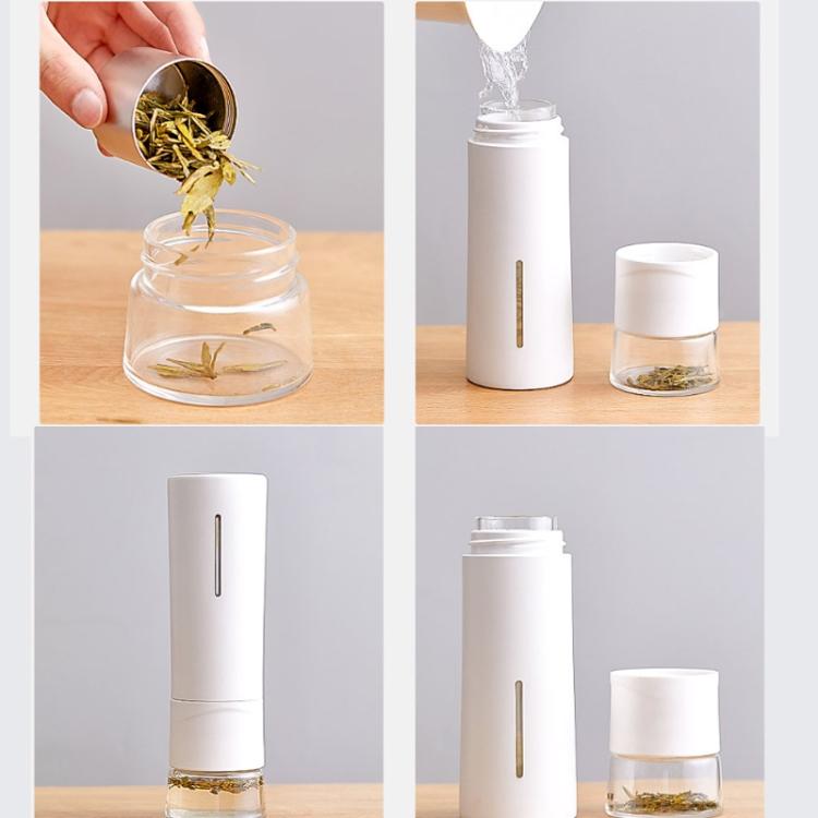 Tee Thermobecher mit Teefach und Sieb
