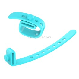 5 Stück Silikon Kabelbinder