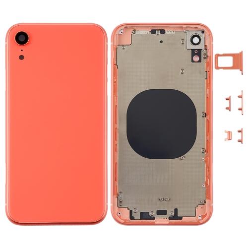 iPhone XR Rückseite orange