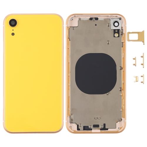 iPhone XR Rückseite yellow