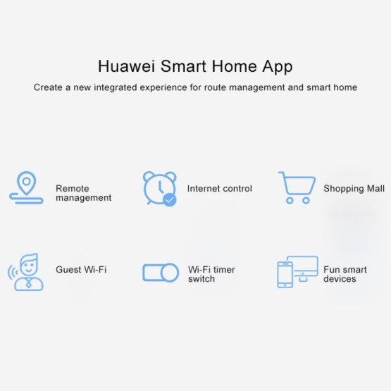 Huawei Q2 2.4GHz 300Mbps + 5GHz 867Mbps Dual Band