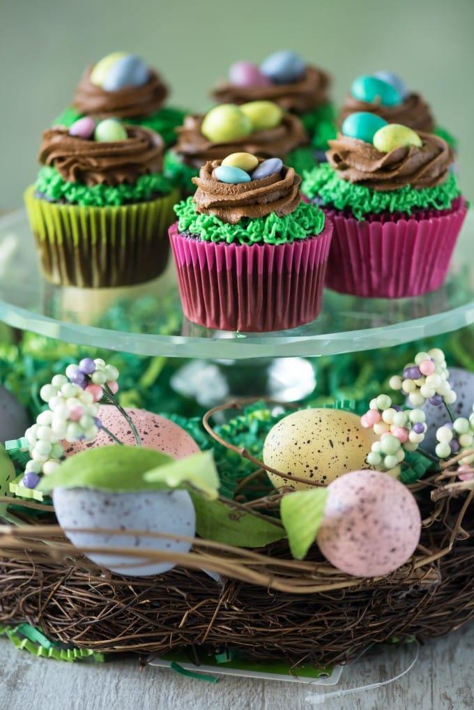 Easter Cakes Birds Nest