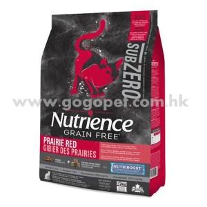 Nutrience Sub Zero 紐翠斯 凍乾脫水鮮牛肝無穀物 紅肉+海魚 全貓配方
