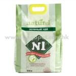N1 天然玉米豆腐貓砂 2.0mm幼條 17.5L (綠茶味)