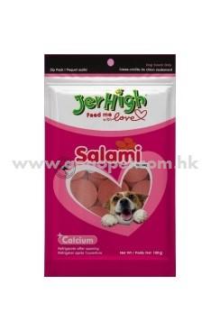 JerHigh 狗小食 - 沙樂美雞肉腸 100g