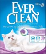 EverClean 藍鑽 薰衣草結塊貓砂 25lb磅 (粉紅帶)