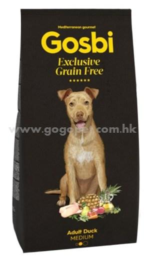 Gosbi 無穀物低敏中型成犬鴨肉配方