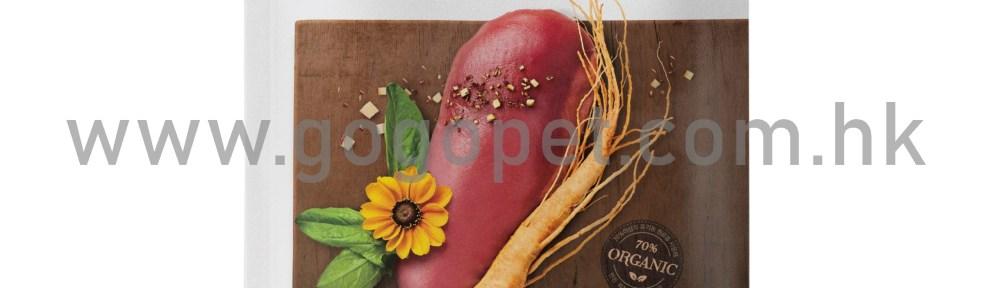 SNOOPET 鮮鴨肉、紅參、蔬菜 (低油健美有機配方)