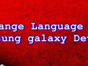 Change language on Samsung Galaxy J5 (2016) with Pictures