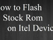 Flash Stock Rom on Itel