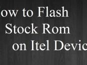 Flash Stock Rom on Itel