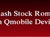 Flash Stock Rom on QMobile