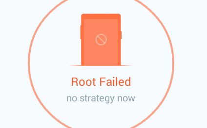 "NO STRATEGY FOUND"" / Root Failed!"