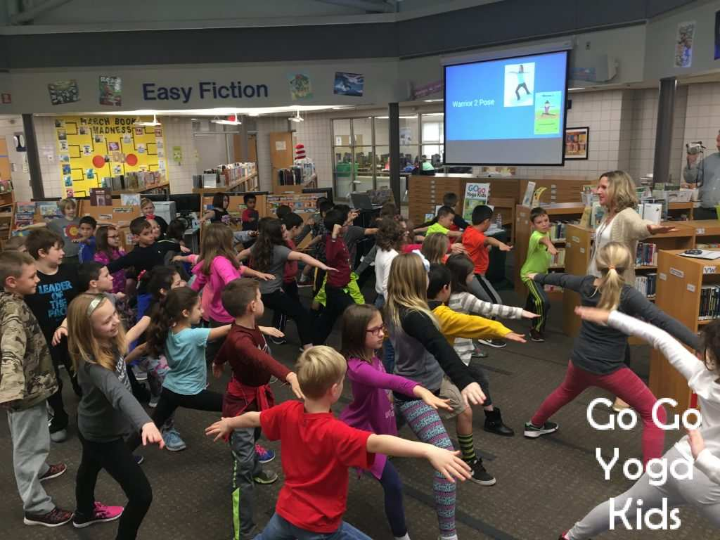 Being A Writer School Presentation And Kids Yoga