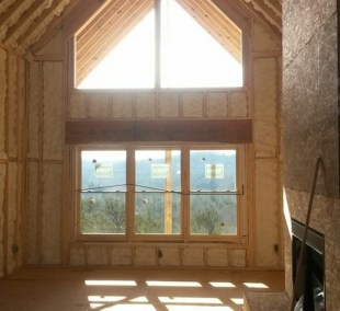 Keep the view but insulate to save money on electric bills.
