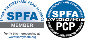 SPFA logo Foam It Right