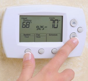Thermostat setting