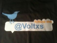 socialwearme tshirt twitter follow me