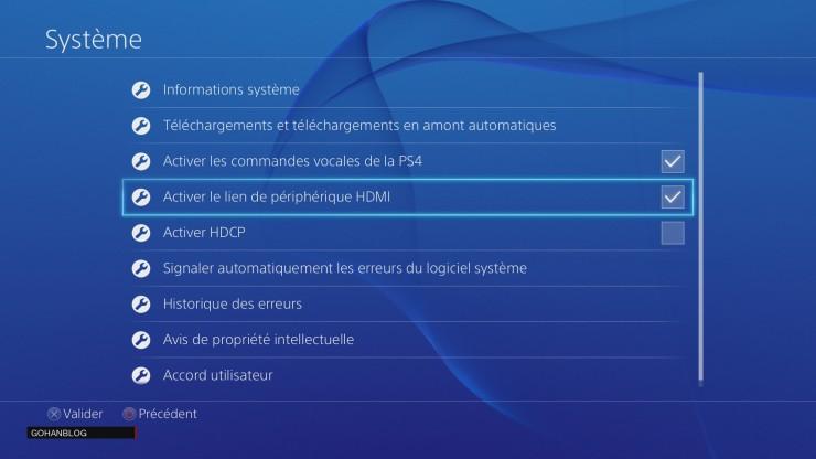 HDMI CEC (3) PS4