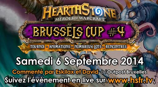 Hearthstone Brussels Cup #4