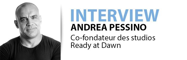 interview Andrea Pessino