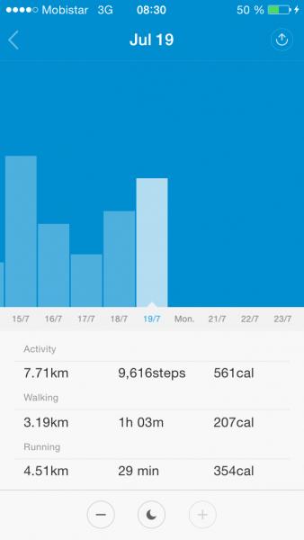 Xiaomi Band app