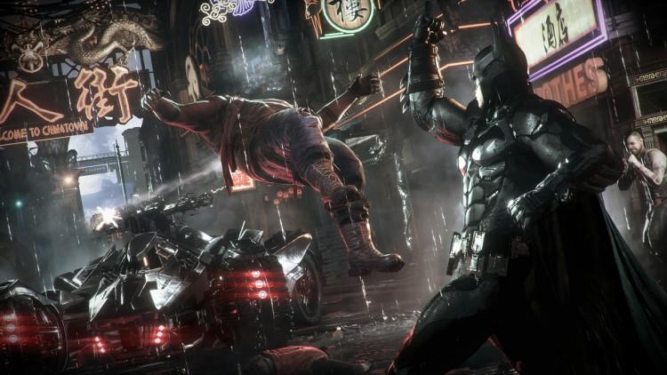 test Batman Arkham Knight PS4