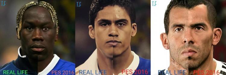 PES 2016 vs FIFA 16