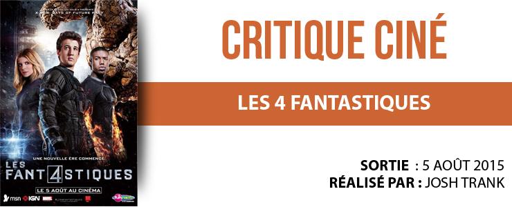 critique les 4 fantastiques
