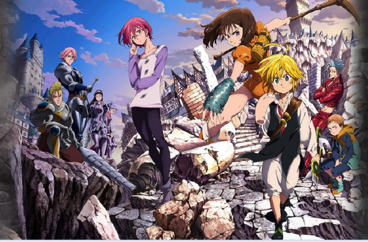 Seven Deadly Sins anime