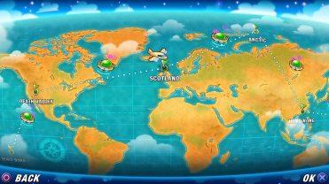 PANG Adventures Tour mode
