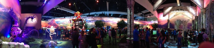 E3 2016 Stand Nintendo Zelda