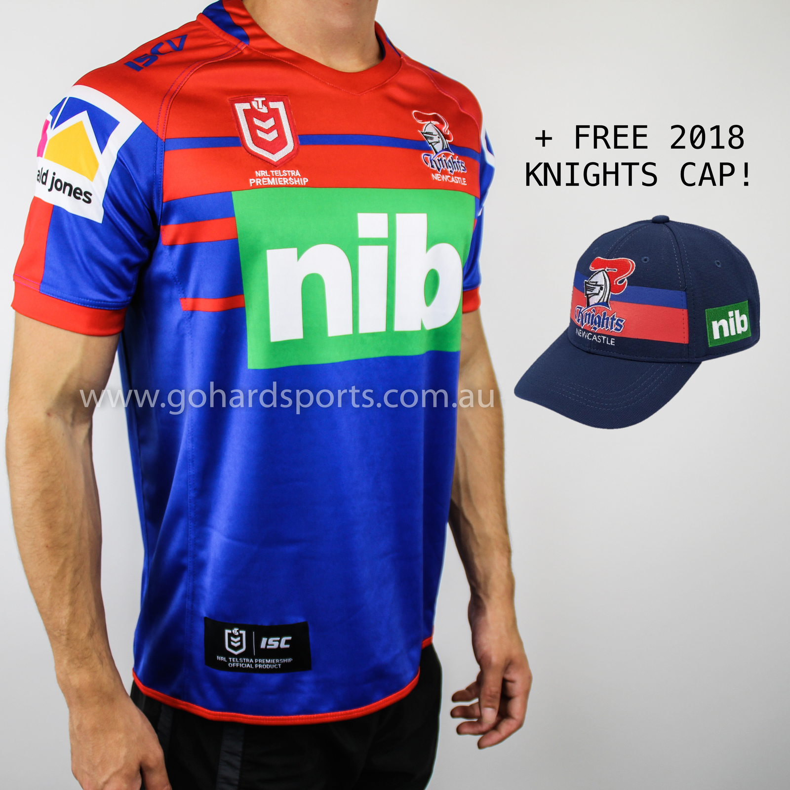 Shop official home, away & third newcastle united jerseys at world soccer shop. Newcastle Knights 2019 NRL Mens Home Jersey (Sizes S - 3XL ...