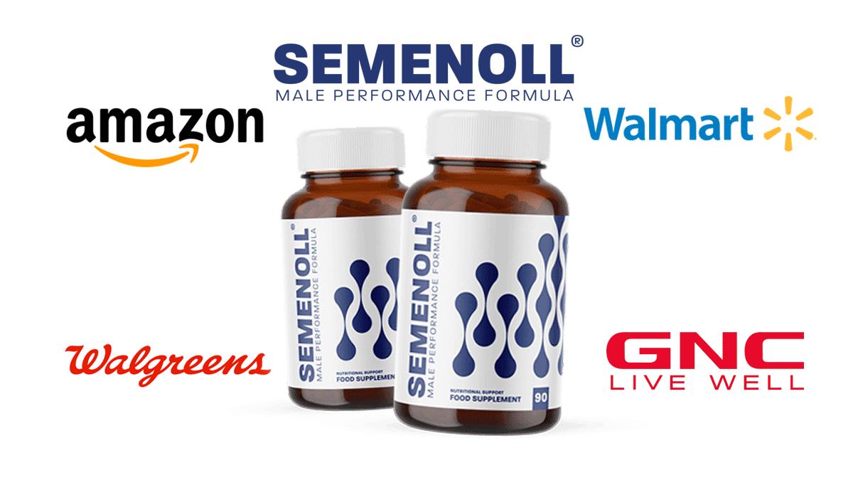 Where to buy Semenoll Amazon, GNC, Walmart?