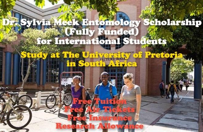 Dr. Sylvia Meek Entomology Scholarship