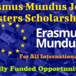 Erasmus Mundus Joint Masters Scholarships