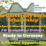 Ruhr University Bochum Scholarship
