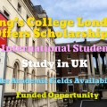King's College London Scholarships