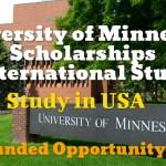 University of Minnesota Scholarships